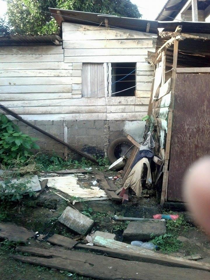 La casa de la familia del pequeño Bubuto.