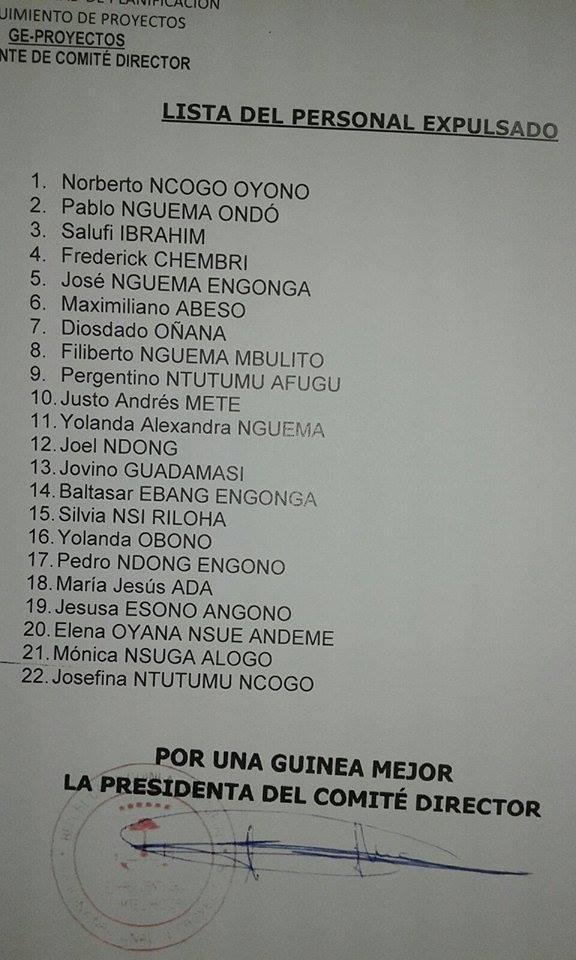 TODO ORDEN POR UNA GUINEA MEJOR