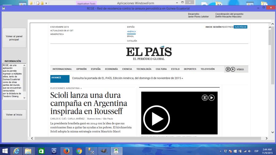 Acceso a El País