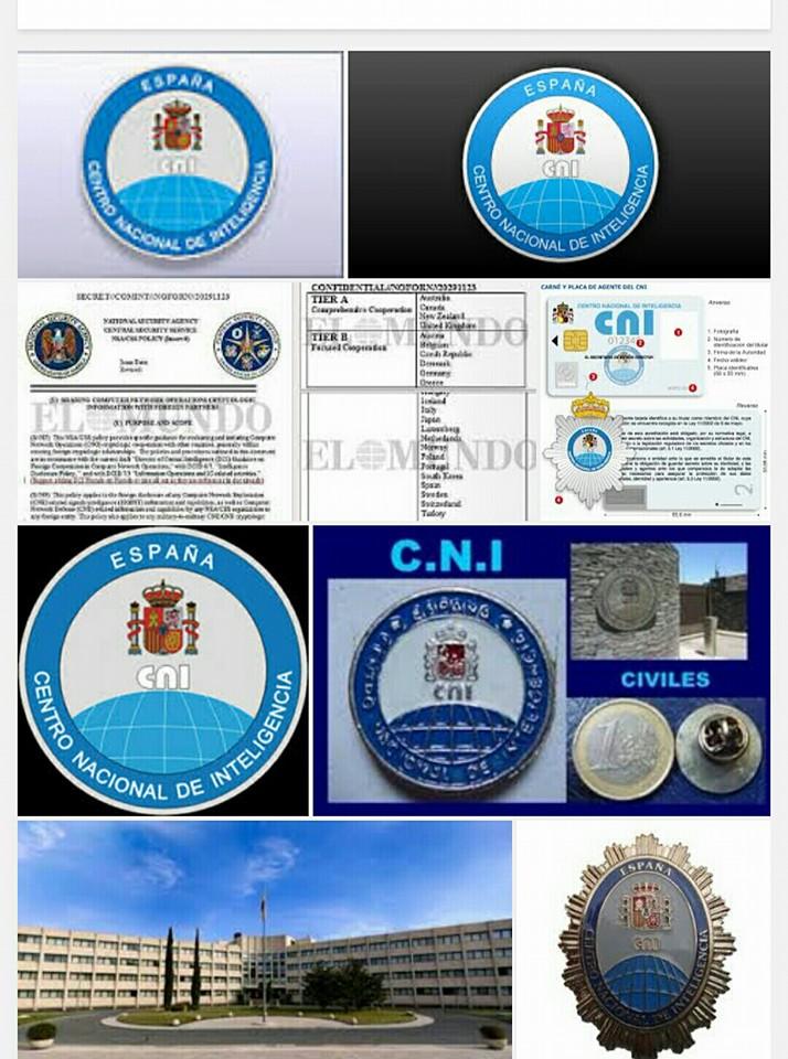 Membretes y logos del CNI