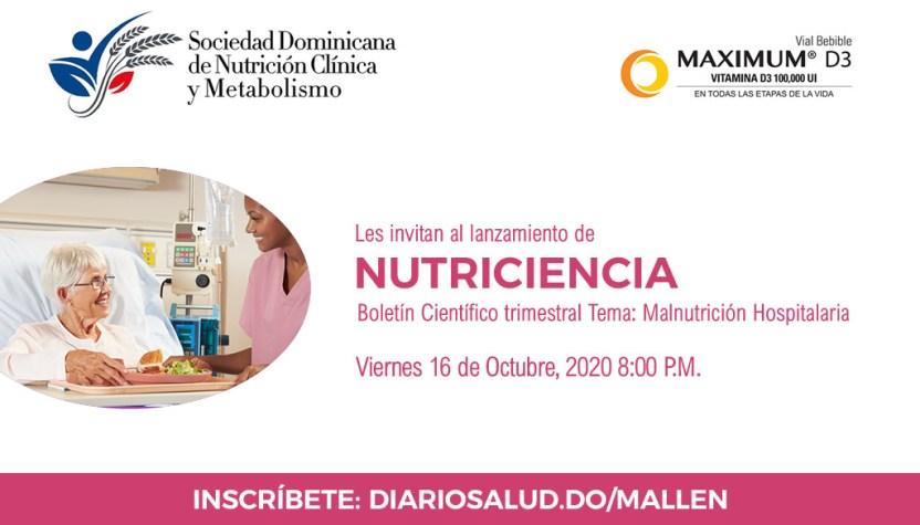 Sociedad Nutrición pone en circulación boletín científico Nutriciencia