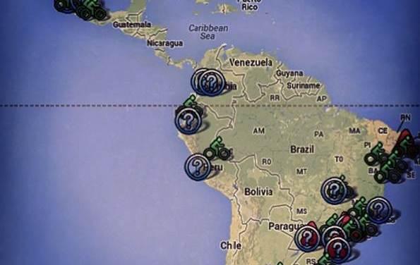 Mapeando a quienes impulsan el ciclismo urbano en América Latina y el Caribe