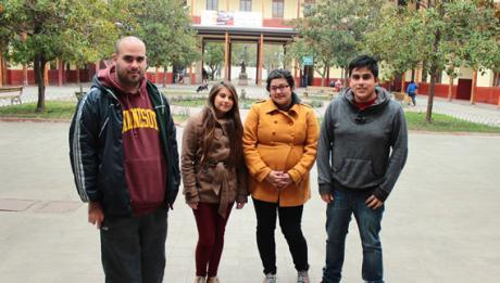 Estudiantes de la U. de Santiago se preparan para los Trabajos Voluntarios de Invierno en Valparaíso