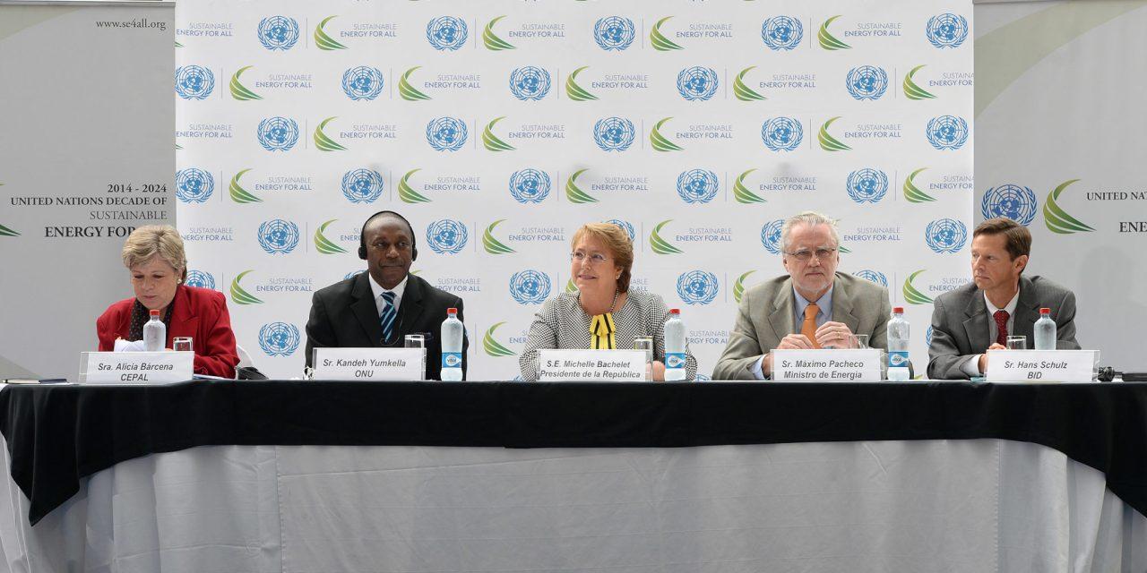 """Naciones Unidas lanza en Chile la """"Década de Energía Sostenible para todos en las Américas"""""""