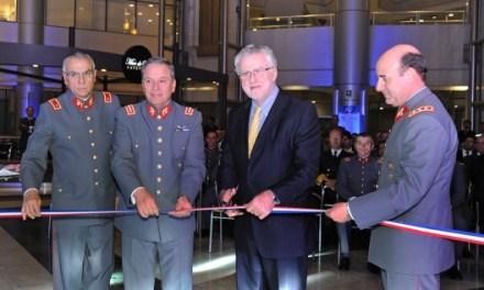 Ejército de Chile inaugura luminaria eficiente en el Hospital Militar