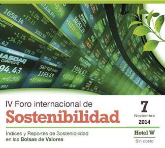 En Santiago se realizará Foro sobre Índices y Reportes de Sostenibilidad en las Bolsas de Valores