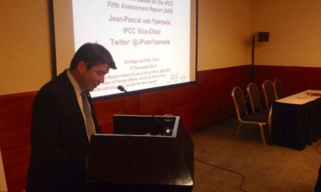 Subsecretario Marcelo Mena llamó a actuar contra el cambio climático