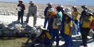 Más de 110 alumnos de Toconao participan de programa de educación ambiental