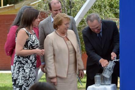 "Lanzan programa ""Agua potable para todos y todas"""
