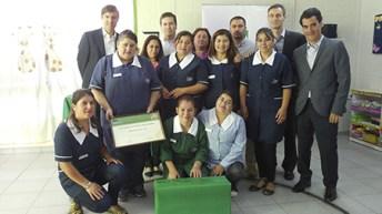 Achs premia a jardines Infantiles de Fundación Integra