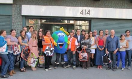 Gendarmería lanza programa de Reciclaje en su Centro de Reinserción Social de Recoleta