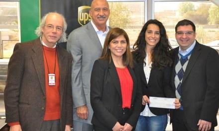 UPS Foundation aportó USD$25.000 a la Fundación Cultiva