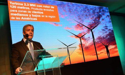 Con nueva turbina desarrollada para vientos de América, Siemens busca liderar el mercado eólico en Chile