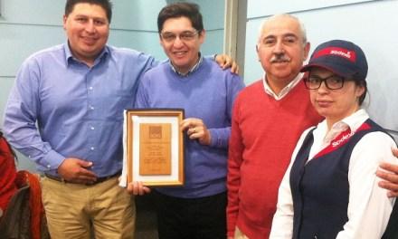 ENAP y ACHS premiaron a Sodexo por alcanzar 2 años sin accidentes