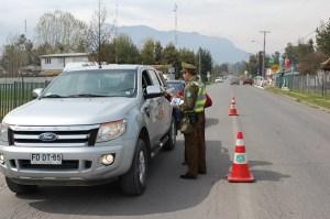 Tinguiririca Energía y Carabineros impulsan campaña de seguridad vial en Puente Negro