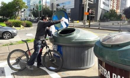 Bicicla: reciclaje en dos ruedas