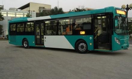 Nueva tecnología de buses de Transantiago de baja emisión apoyarán plan para descontaminar la capital