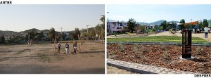 El desarrollo de áreas verdes para construir comunidad
