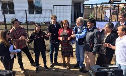 CMPC participa de entrega de primera casa en Santa Olga