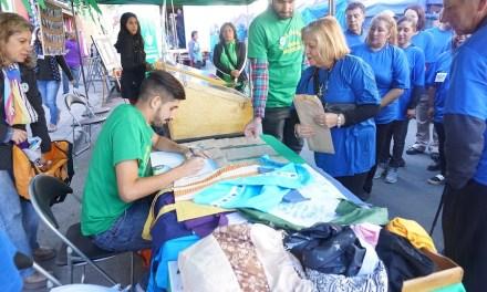 En barrio Las Telas lanzan proyecto participativo que busca reducir el uso de las bolsas plásticas en el comercio