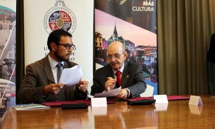 PUCV y Empresa Portuaria de Valparaíso suscriben convenio para realización de actividades culturales