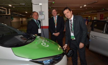 Europcar, Municipalidad de las Condes y Enel presentan primera flota de autos ecológicos para arriendo