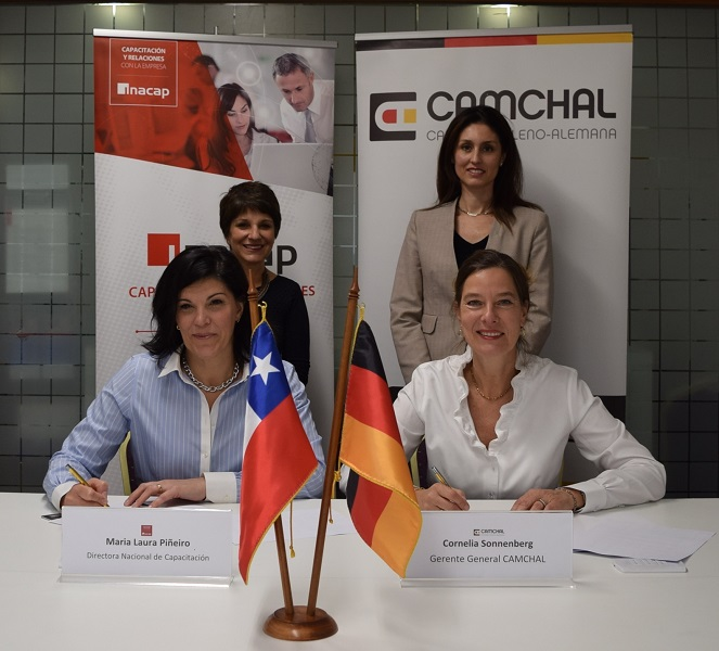 CAMCHAL e INACAP se unen para promover formación de profesionales en eficiencia energética