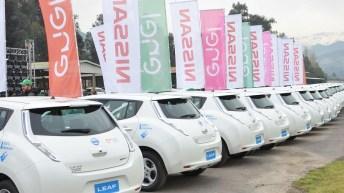 ENEL Chile y NISSAN hacen entrega de la flota de autos eléctricos más grande de Latinoamérica
