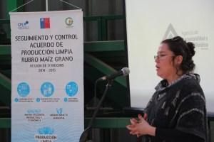 Pequeños productores de maíz de O´Higgins avanzan hacia la certificación en Producción Limpia