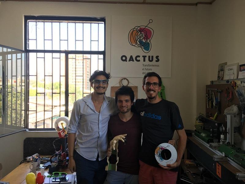 Qactus transforma la basura plástica en filamentos de impresoras 3D