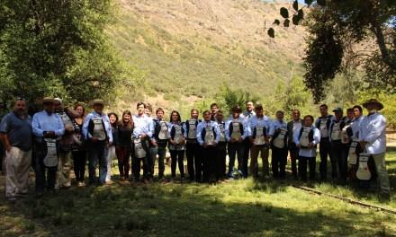 Arrieros del Cajón del Maipo recibieron kits solares