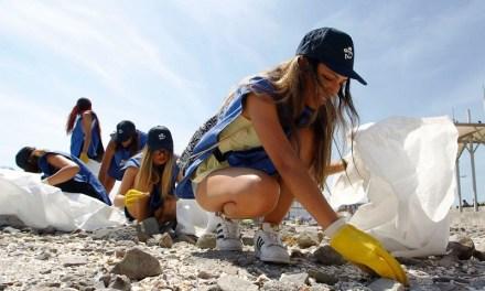 Más de 400 kilos de plástico se recogieron en playa Cavancha