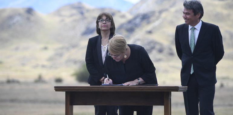 """Presidenta Bachelet: """"El Estado tiene el deber de valorar, preservar y potenciar la riqueza natural de la Patagonia"""""""