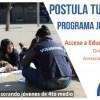 """Se abren postulaciones para programa """"Juntos Hacia la Educación Superior"""" de Fundación Por una Carrera"""