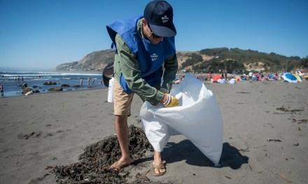Voluntarios Por El Océano cierra paso por la VI Región recolectando más de 300 kilos de basura
