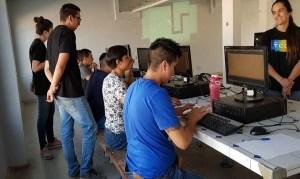 Niños del Sename se acercan a la programación con el apoyo de Fundación Kodea