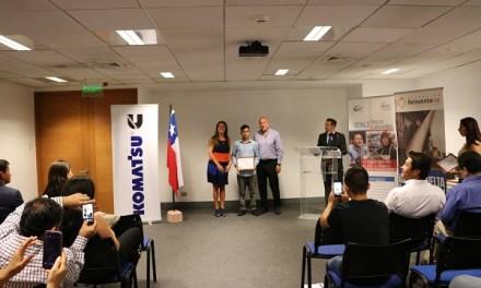 En asociación con Komatsu, Melón Hormigones finalizó curso de capacitación para jóvenes que infringieron la ley