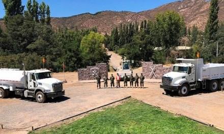 Embajada de EE.UU. dona al Ejército chileno seis camiones Mack para trabajos de la ONU en África