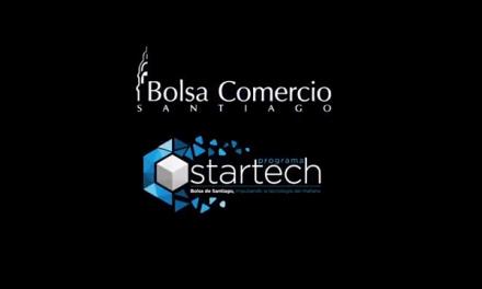 Programa Startech de la Bolsa de Santiago apoya el desarrollo y aceleración de emprendimientos