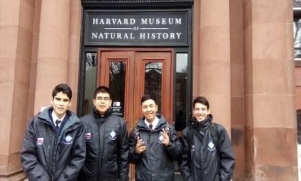 """Escolares chilenos ganadores de """"Los Creadores"""" viajan EE.UU. para jornadas de aprendizaje en Harvard  y MIT"""