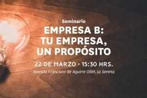 Asech realizará seminario de empresas con propósito en La Serena
