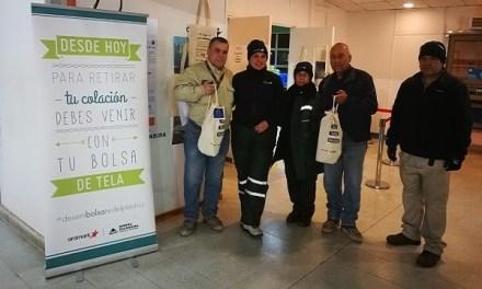Aramark se compromete a reducir el uso de bolsas plásticas en el país