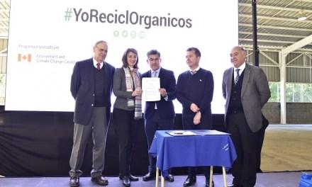 Chile y Canadá se unen para apoyar el desarrollo sostenible y la transición a una economía baja en carbono a través del programa Reciclo Orgánicos
