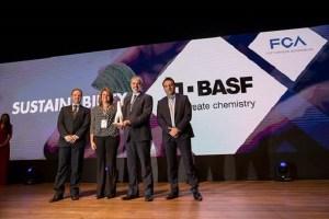 BASF recibe el premio de mejor proveedor en Sustentabilidad por Fiat Chrysler Automobiles