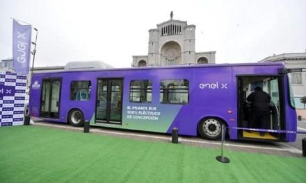 Enel X junto a Municipalidad de Concepción y Ministerio de Transportes inauguran recorrido del  primer bus eléctrico de la región del Biobío