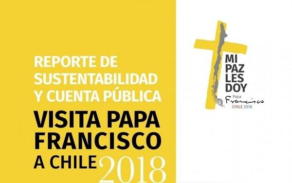 Conferencia Episcopal de Chile publica Reporte de Sustentabilidad de la visita del Papa Francisco a Chile