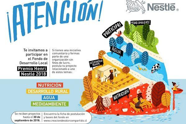 Fondo de Desarrollo Local Premio Henri Nestlé financiaráProyectos Comunitarios