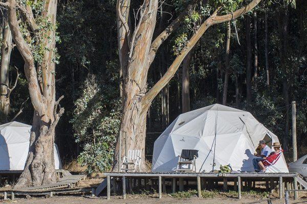 ¡Atención viajeros!,guía web agrupa a los mejores camping de Chile