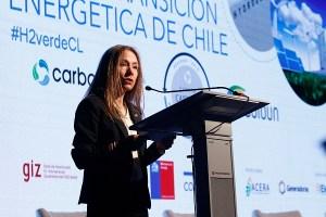"""Ministra Susana Jiménez inaugura la conferencia: """"Hidrógeno Verde para la Transición Energética de Chile"""""""