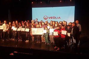 "Alumna de Maipu obtiene 1er lugar del Concurso ""Alrededor de Iberoamérica 2018"" de Veolia Chile"
